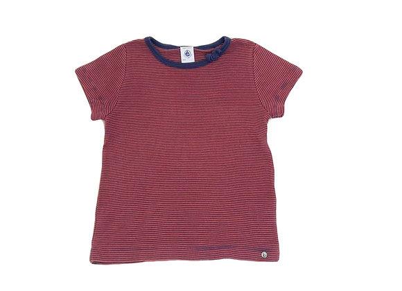 T-shirt Petit Bateau rayures 6 ans