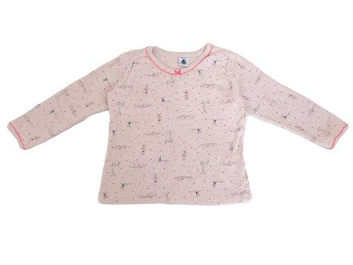T-shirt Petit Bateau rose 3 ans