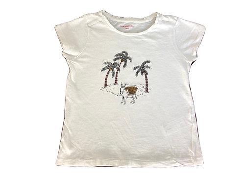 T-shirt Monoprix Kids blanc 5 ans