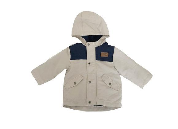 Manteau à capuche Vertbaudet doublé 12 mois