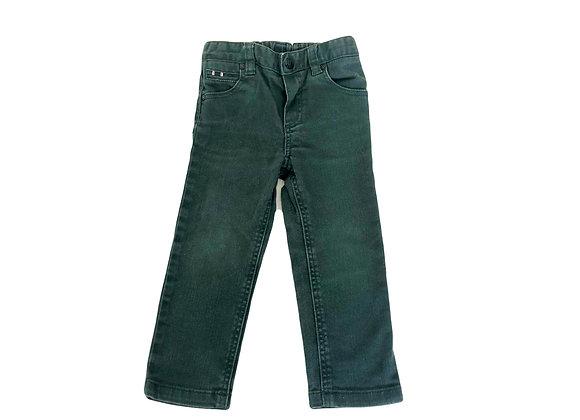 Pantalon Cyrillus vert 2 ans