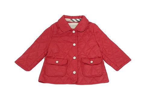 Manteau Burberry rouge 12 mois neuf