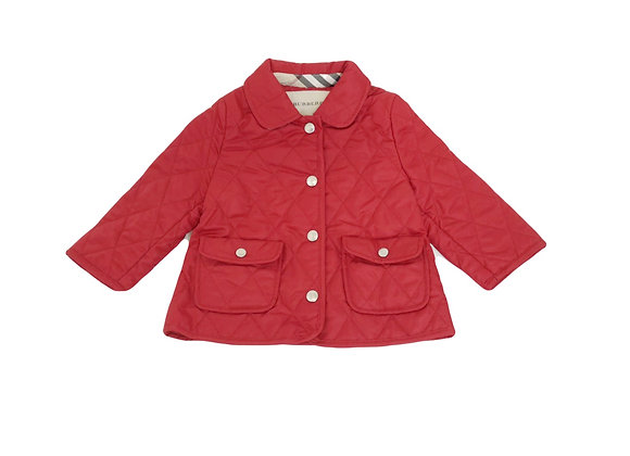 Manteau Burberry rouge 12 mois neuf