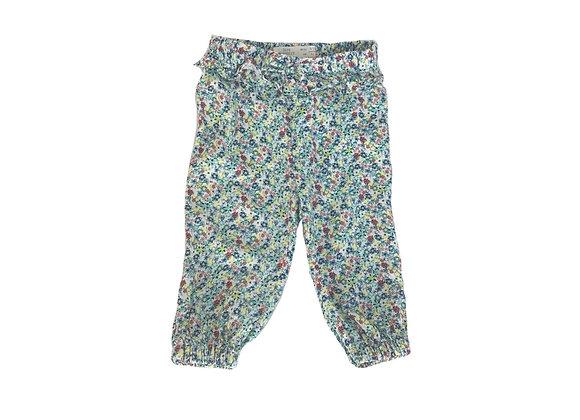 Pantalon Zara  fleuri 6/9 mois