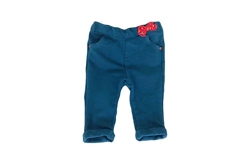 Pantalon Sergent Major bleu canard 3 mois