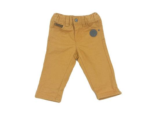Pantalon Obaibi moutarde 3 mois