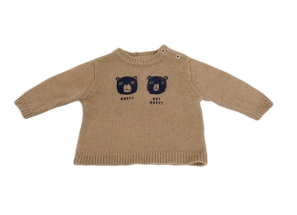 Pull Bout'chou camel 6 mois