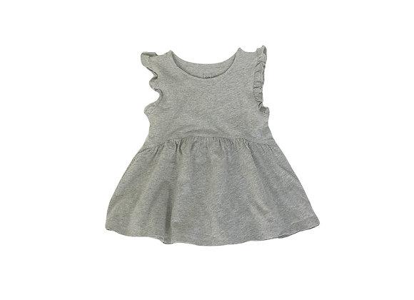 Robe Baby Gap gris chiné 2 ans