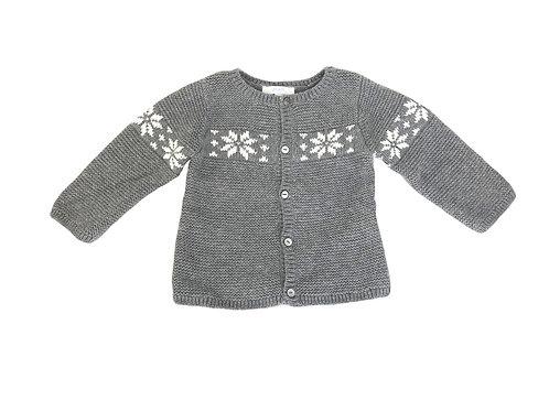 Gilet Jacadi en laine gris 12 mois mixte