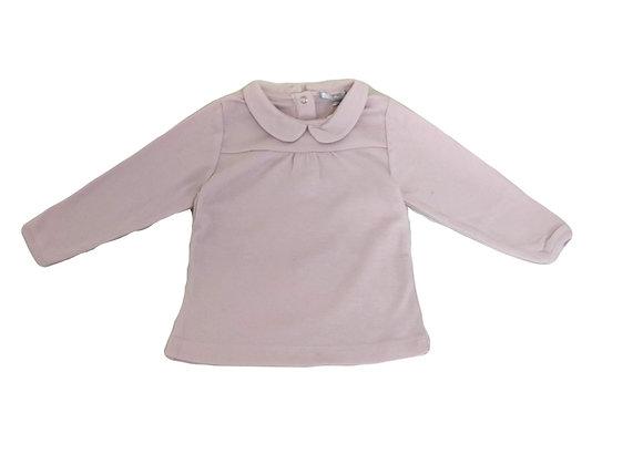 T-shirt manches longues Johdpur rose pâle 12 mois