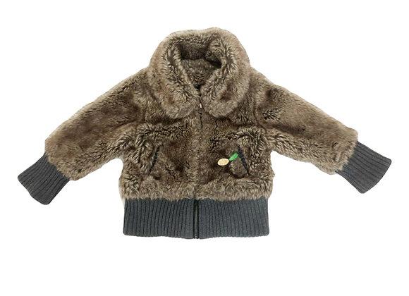 Manteau IKKS en fourrure 3 ans