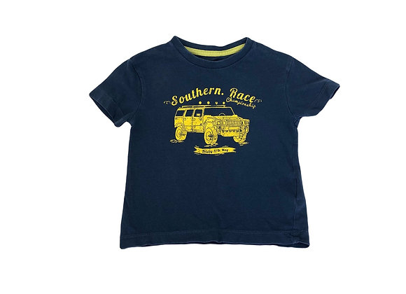 T-shirt Vertbaudet bleu 2 ans