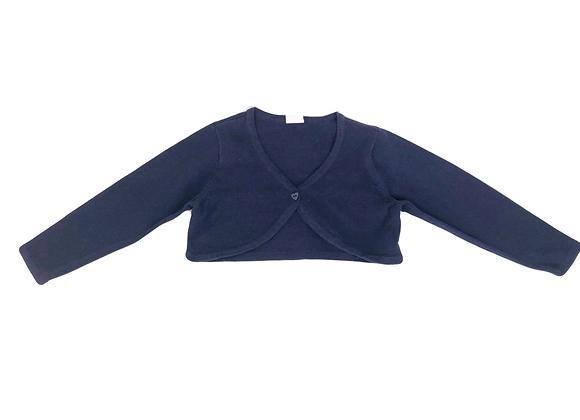 Gilet court H&M bleu marine 18 mois (86cm) neuf