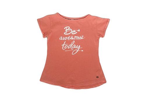 T-shirt Esprit à message corail 10/11 ans