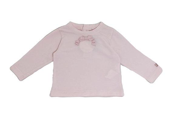 T-shirt Lili Gaufrette rose 3 mois