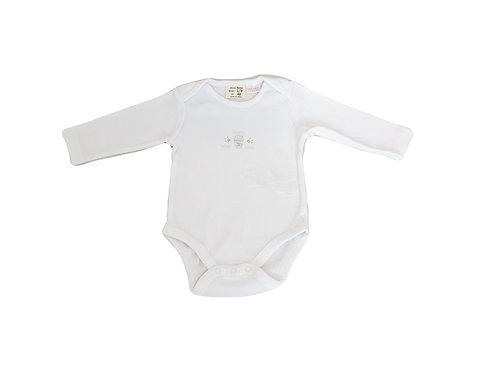 Body Zara blanc 1/3 mois (62cm) mixte