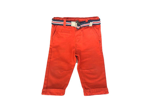 Pantalon Obaibi rouge 12 mois