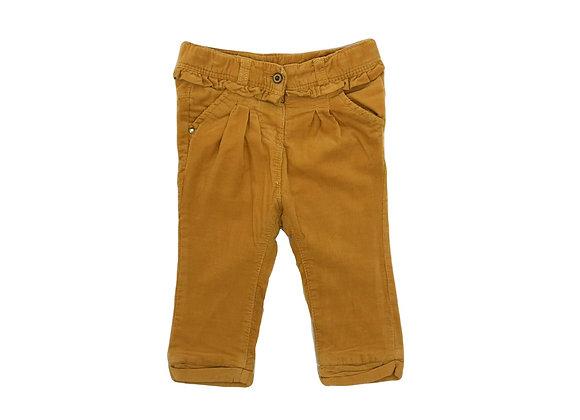 Pantalon Tape à l'oeil moutarde 9 mois