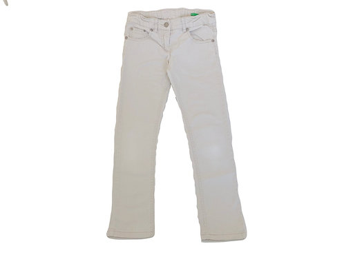Pantalon Benetton skinny stretch 7/8 ans