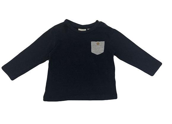 T-shirt Zara bleu 6/9 mois (74mois)