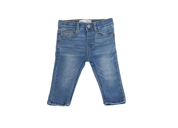 Jean Zara bleu 6/9mois (74cm)