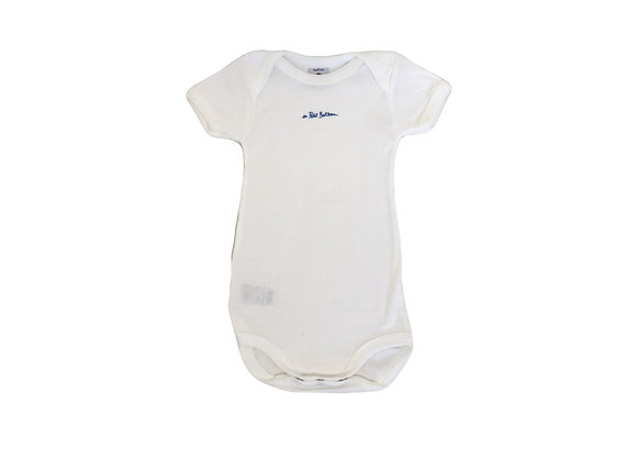 Body Petit Bateau blanc 6 mois