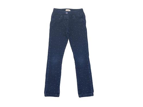 Pantalon DPAM bleu à pois 4 ans