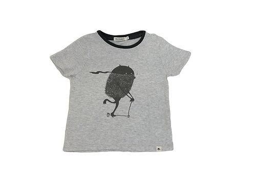 T-shirt Billy Bandit gris 3 ans