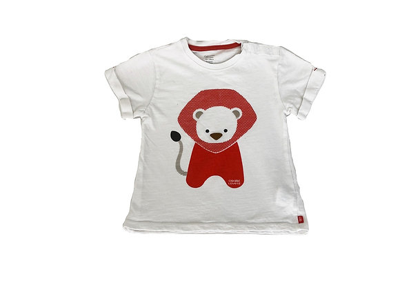 T-shirt Obaibi blanc 18 mois