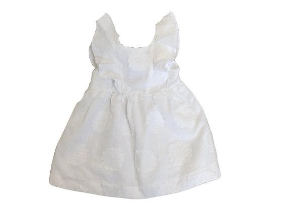 Robe Zara blanche 12/18 mois