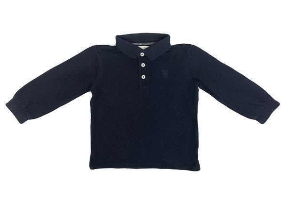 Polo Zara bleu 2/3 ans (98cm)