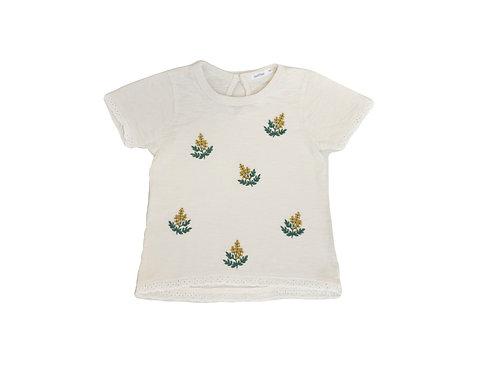 T-shirt Bout'chou brodé 3 ans