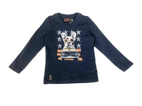 T-shirt Catimini  bleu 4 ans