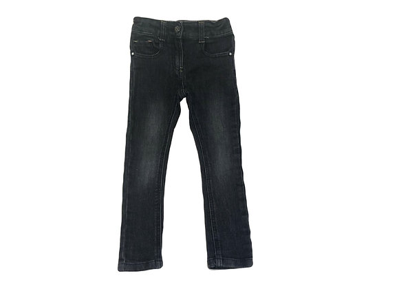 Jean 3Pommes noir 3/4 ans (104cm)
