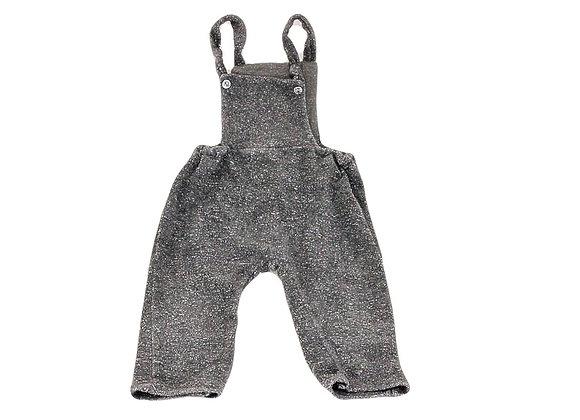 Salopette Zara en tissus éponge gris 9/12 mois
