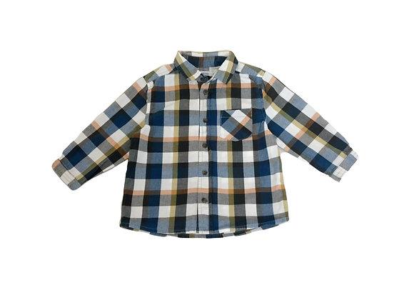 Chemise Bout'chou à carreaux 12 mois