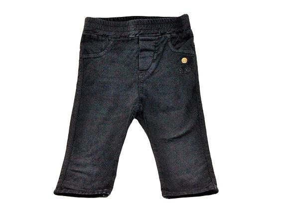 Pantalon IKKS en velour noir 6 mois