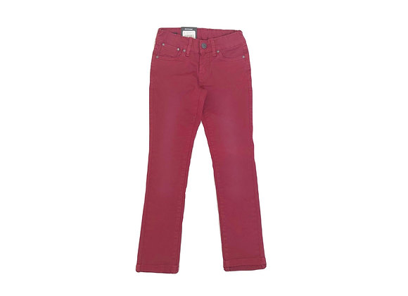 Pantalon Pepe Jeans bordeau 7 ans