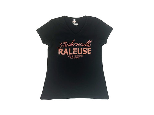 T-shirt Kaporal à message noir 12 ans