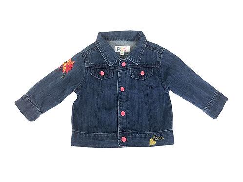 Veste en jean La compagnie des petits 6 mois