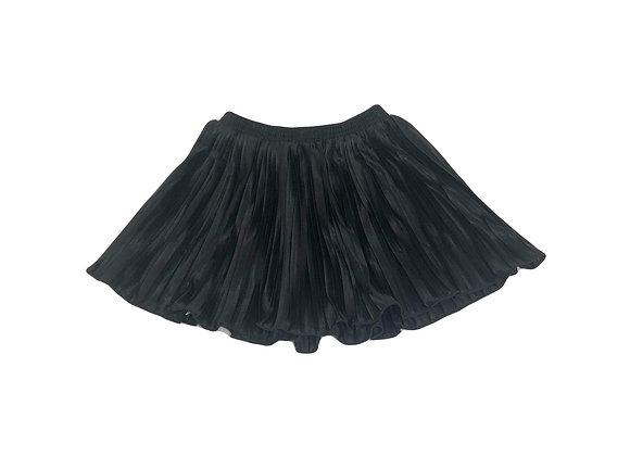 Jupe plissée American Apparel noire 6 ans