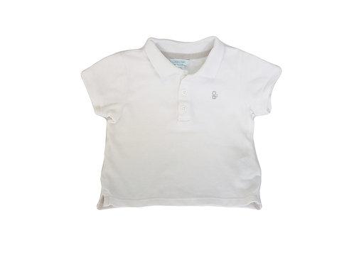 Polo Obaibi blanc 6 mois