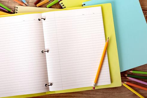 cuaderno escolar