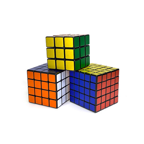 Mate Chrome 3x3 Puzzle Cube