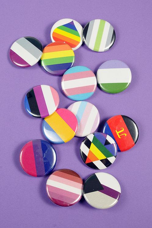 Pride Pins Badges 1-20