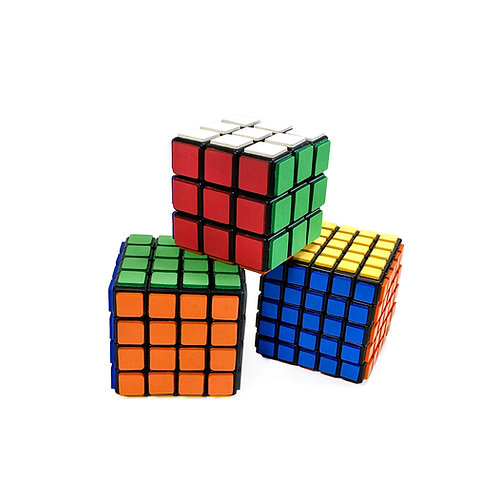 4x4 Tactile Foam Custom Puzzle Cubes ~ Soft Squishy Foam Cube
