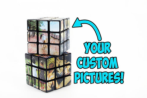 Custom Puzzle Cube 3x3 ~ Personalized Working Puzzle