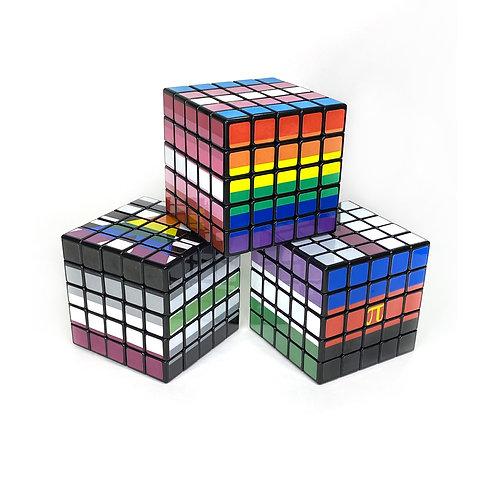 Pride Flag 5x5 Puzzle Cubes