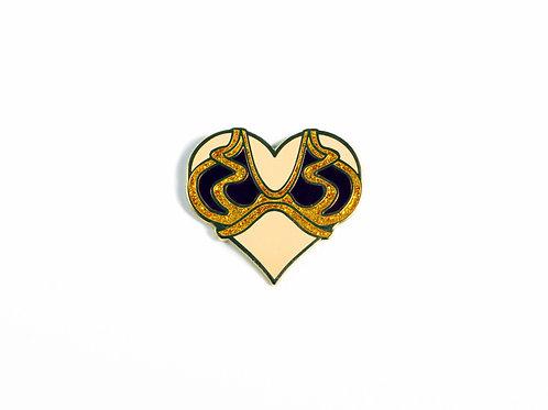 Leia Breast Friends Enamel Pins ~ Superhero Bust Brooch