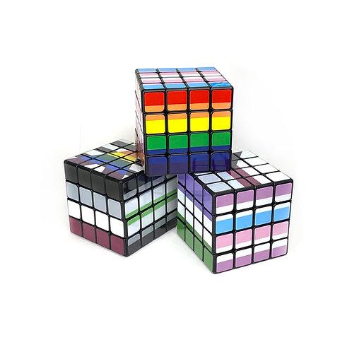 Pride Flag 4x4 Puzzle Cubes